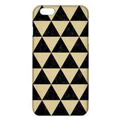 Triangle3 Black Marble & Light Sand Iphone 6 Plus/6s Plus Tpu Case by trendistuff