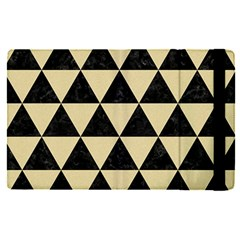 Triangle3 Black Marble & Light Sand Apple Ipad Pro 9 7   Flip Case by trendistuff