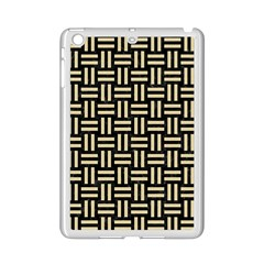 Woven1 Black Marble & Light Sand Ipad Mini 2 Enamel Coated Cases by trendistuff