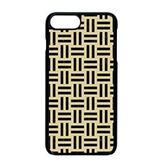 Woven1 Black Marble & Light Sand (r) Apple Iphone 7 Plus Seamless Case (black) by trendistuff