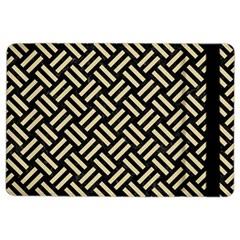 Woven2 Black Marble & Light Sand Ipad Air 2 Flip by trendistuff
