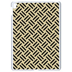 Woven2 Black Marble & Light Sand (r) Apple Ipad Pro 9 7   White Seamless Case by trendistuff
