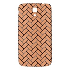 Brick2 Black Marble & Natural Red Birch Wood (r) Samsung Galaxy Mega I9200 Hardshell Back Case by trendistuff
