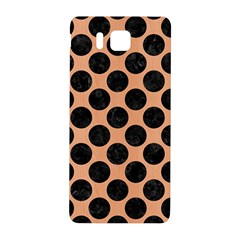Circles2 Black Marble & Natural Red Birch Wood (r) Samsung Galaxy Alpha Hardshell Back Case by trendistuff