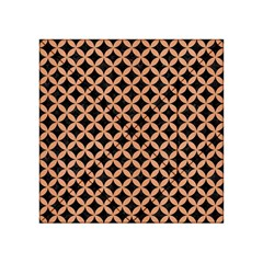 Circles3 Black Marble & Natural Red Birch Wood Acrylic Tangram Puzzle (4  X 4 ) by trendistuff