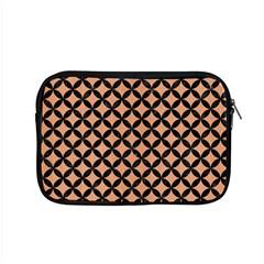 Circles3 Black Marble & Natural Red Birch Wood (r) Apple Macbook Pro 15  Zipper Case by trendistuff