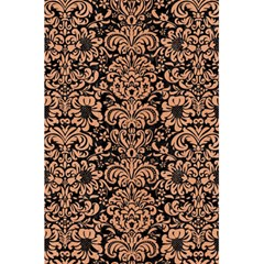 Damask2 Black Marble & Natural Red Birch Wood 5 5  X 8 5  Notebooks by trendistuff
