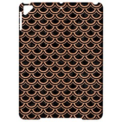 Scales2 Black Marble & Natural Red Birch Wood Apple Ipad Pro 9 7   Hardshell Case by trendistuff