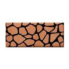 Skin1 Black Marble & Natural Red Birch Wood Cosmetic Storage Cases by trendistuff