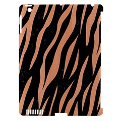 Skin3 Black Marble & Natural Red Birch Wood Apple Ipad 3/4 Hardshell Case (compatible With Smart Cover) by trendistuff