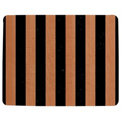 Stripes1 Black Marble & Natural Red Birch Wood Jigsaw Puzzle Photo Stand (rectangular) by trendistuff