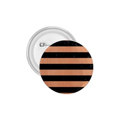 Stripes2 Black Marble & Natural Red Birch Wood 1 75  Buttons by trendistuff