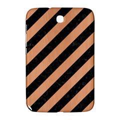 Stripes3 Black Marble & Natural Red Birch Wood Samsung Galaxy Note 8 0 N5100 Hardshell Case