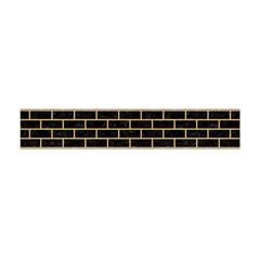 Brick1 Black Marble & Natural White Birch Wood Flano Scarf (mini) by trendistuff