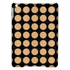 Circles1 Black Marble & Natural White Birch Wood Ipad Air Hardshell Cases by trendistuff