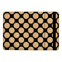 Circles2 Black Marble & Natural White Birch Wood Samsung Galaxy Tab Pro 10 1  Flip Case by trendistuff