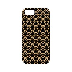 Scales2 Black Marble & Natural White Birch Wood Apple Iphone 5 Classic Hardshell Case (pc+silicone) by trendistuff