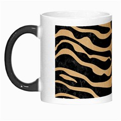 Skin2 Black Marble & Natural White Birch Wood Morph Mugs by trendistuff