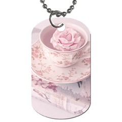 Shabby Chic High Tea Dog Tag (two Sides) by 8fugoso