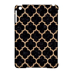 Tile1 Black Marble & Natural White Birch Wood Apple Ipad Mini Hardshell Case (compatible With Smart Cover) by trendistuff