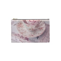 Shabby Chic High Tea Cosmetic Bag (small)  by 8fugoso