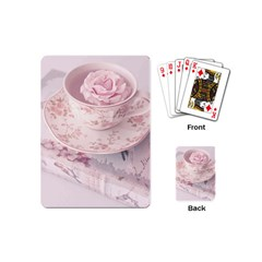 Shabby Chic High Tea Playing Cards (mini)  by 8fugoso
