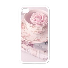 Shabby Chic High Tea Apple Iphone 4 Case (white) by 8fugoso