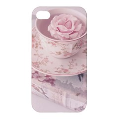Shabby Chic High Tea Apple Iphone 4/4s Hardshell Case by 8fugoso