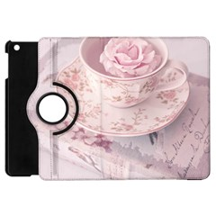 Shabby Chic High Tea Apple Ipad Mini Flip 360 Case by 8fugoso