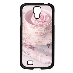 Shabby Chic High Tea Samsung Galaxy S4 I9500/ I9505 Case (black)