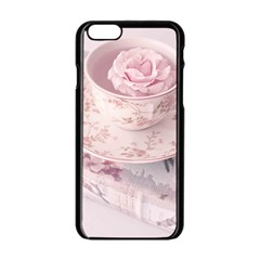 Shabby Chic High Tea Apple Iphone 6/6s Black Enamel Case by 8fugoso