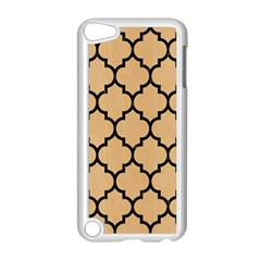 Tile1 Black Marble & Natural White Birch Wood (r) Apple Ipod Touch 5 Case (white) by trendistuff
