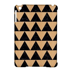 Triangle2 Black Marble & Natural White Birch Wood Apple Ipad Mini Hardshell Case (compatible With Smart Cover) by trendistuff