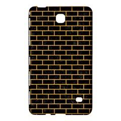 Brick1 Black Marble & Orange Colored Pencil Samsung Galaxy Tab 4 (8 ) Hardshell Case  by trendistuff