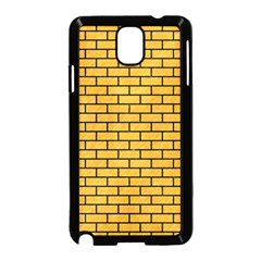 Brick1 Black Marble & Orange Colored Pencil (r) Samsung Galaxy Note 3 Neo Hardshell Case (black) by trendistuff