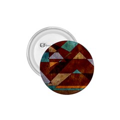 Turquoise And Bronze Triangle Design With Copper 1 75  Buttons by theunrulyartist