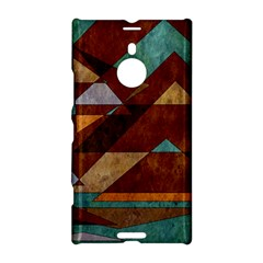 Turquoise And Bronze Triangle Design With Copper Nokia Lumia 1520 by theunrulyartist