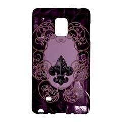 Soft Violett Floral Design Galaxy Note Edge by FantasyWorld7