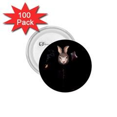 Evil Rabbit 1 75  Buttons (100 Pack)  by Valentinaart