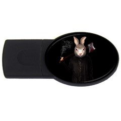 Evil Rabbit Usb Flash Drive Oval (4 Gb)