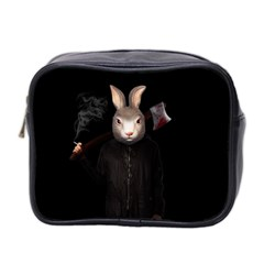 Evil Rabbit Mini Toiletries Bag 2 Side by Valentinaart