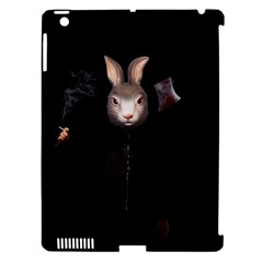 Evil Rabbit Apple Ipad 3/4 Hardshell Case (compatible With Smart Cover) by Valentinaart