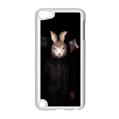 Evil Rabbit Apple Ipod Touch 5 Case (white) by Valentinaart