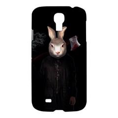 Evil Rabbit Samsung Galaxy S4 I9500/i9505 Hardshell Case by Valentinaart