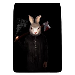Evil Rabbit Flap Covers (s)  by Valentinaart