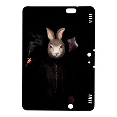 Evil Rabbit Kindle Fire Hdx 8 9  Hardshell Case by Valentinaart