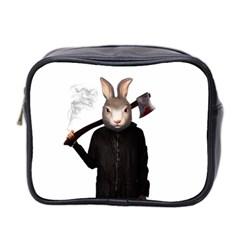 Evil Rabbit Mini Toiletries Bag 2 Side by Valentinaart
