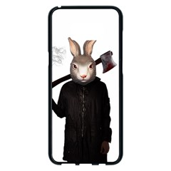 Evil Rabbit Samsung Galaxy S8 Plus Black Seamless Case by Valentinaart