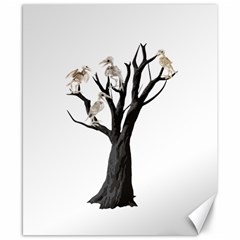 Dead Tree  Canvas 8  X 10  by Valentinaart