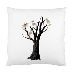 Dead Tree  Standard Cushion Case (two Sides) by Valentinaart
